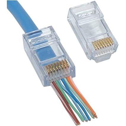 RJ45 Cat 6 Network Jacks