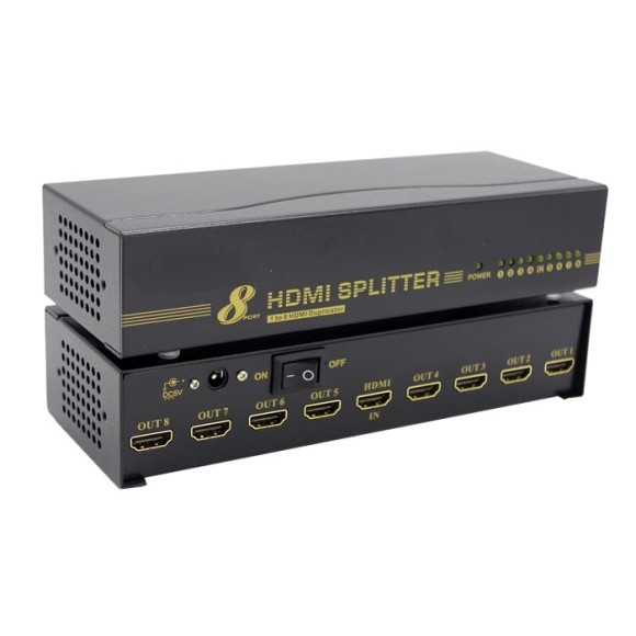 HDMI SPLITTER 1 to 8