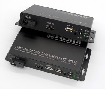 HDMI to Fibre Transceiver 1080P