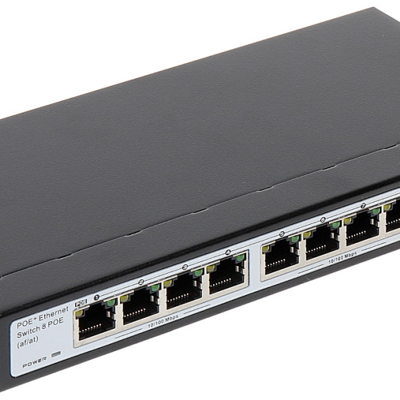 POE 8 PORT with uplink